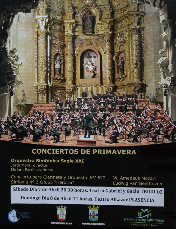 Conciertos de Primavera Trujillo 2012